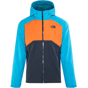 The North Face Stratos Jacket Men Urban Navy/Persnorg/Hyper Blue